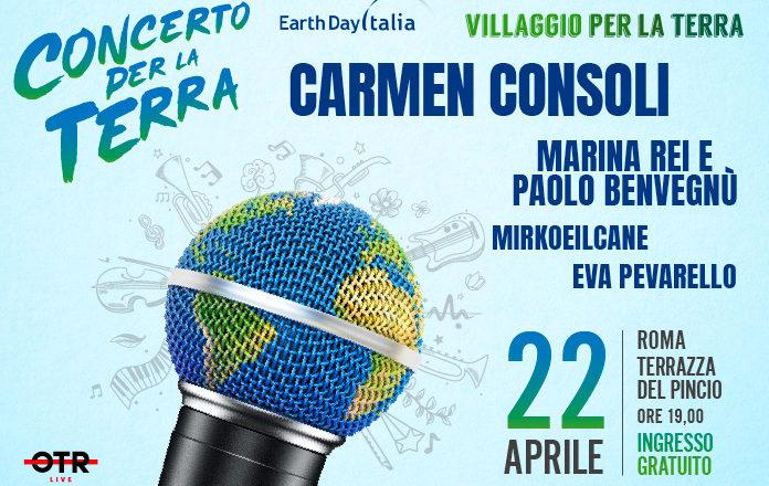 We Music Alla Terrazza Del Pincio Di Roma L Earth Day