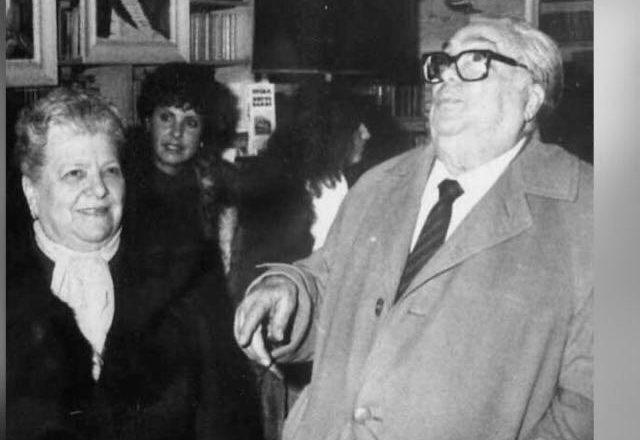 Sora Lella e Aldo Fabrizi